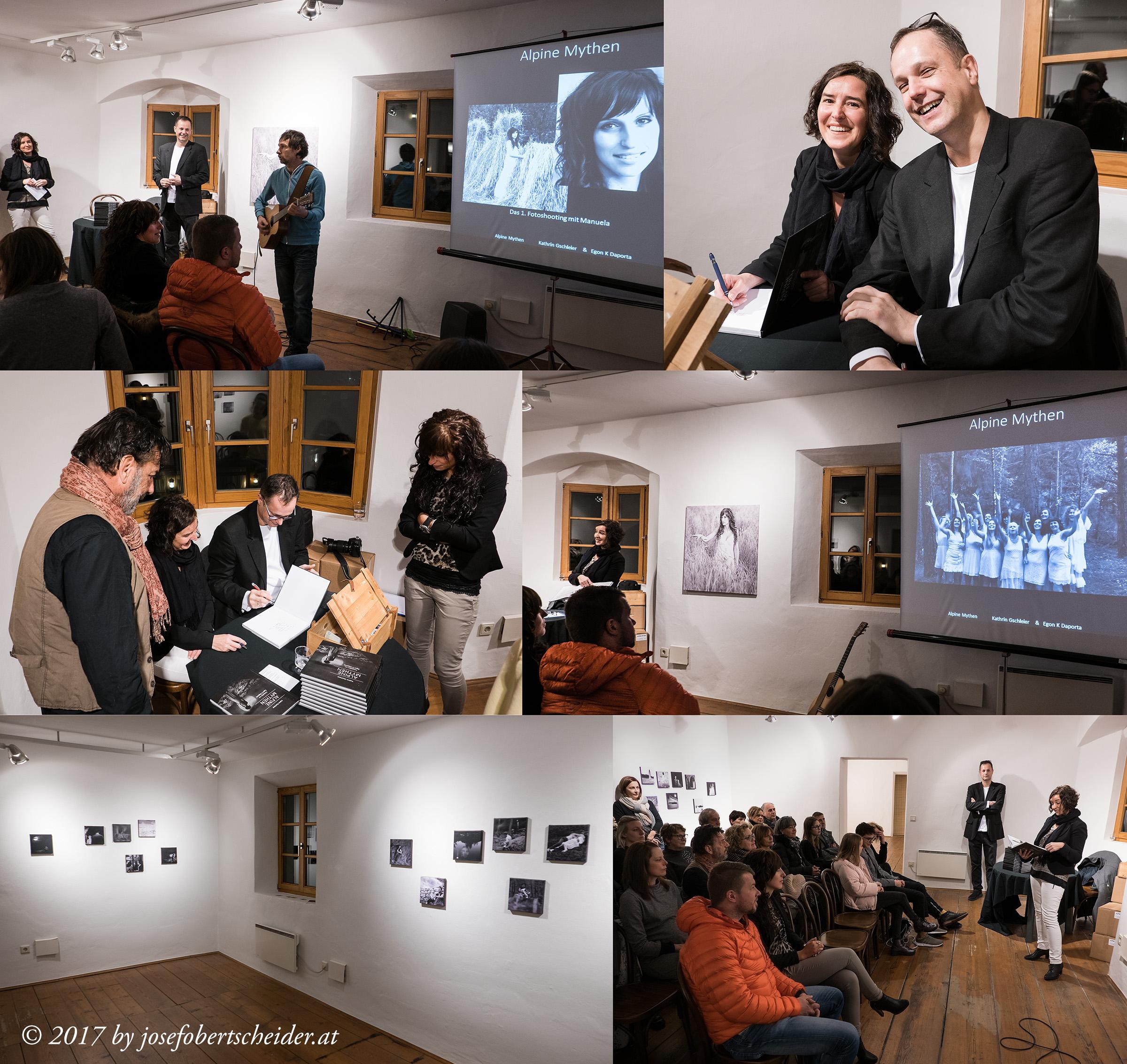 Buchpräsentation und Fotoausstellung in Mühlbach Südtirol