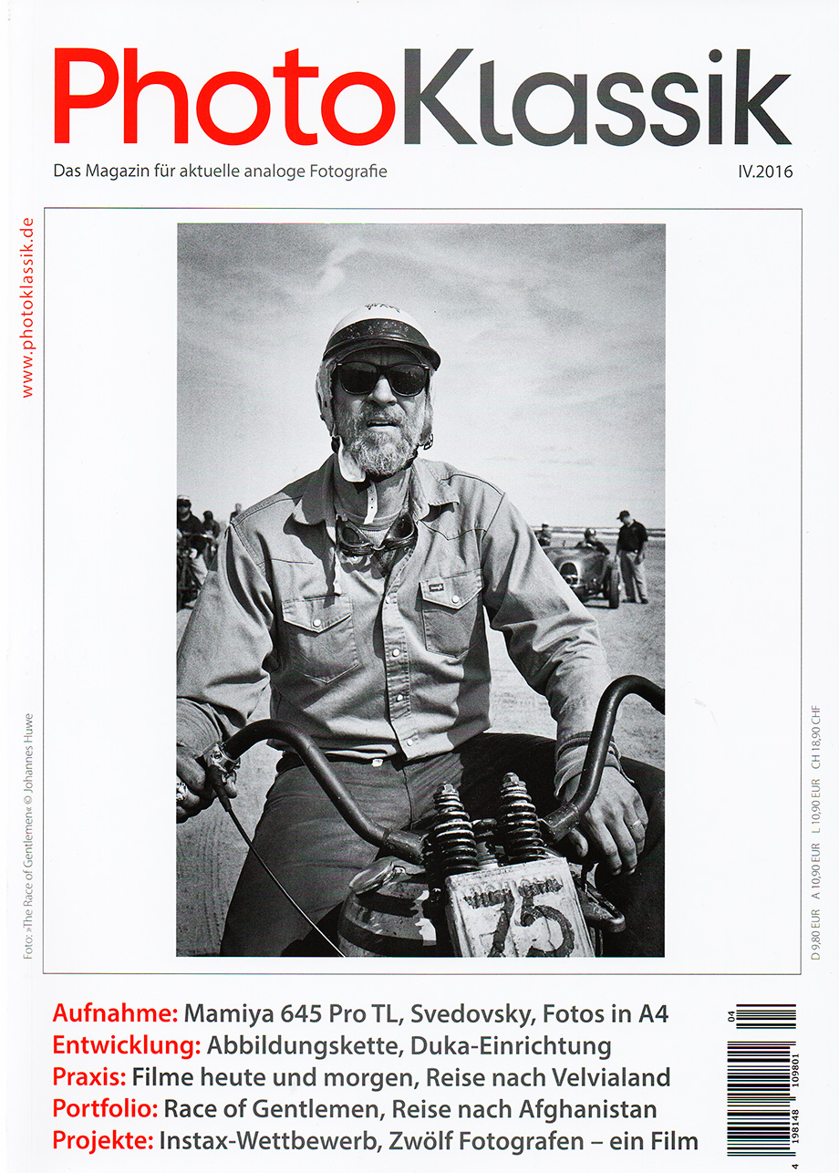 Zeitschrift für moderne analoge Fotografie