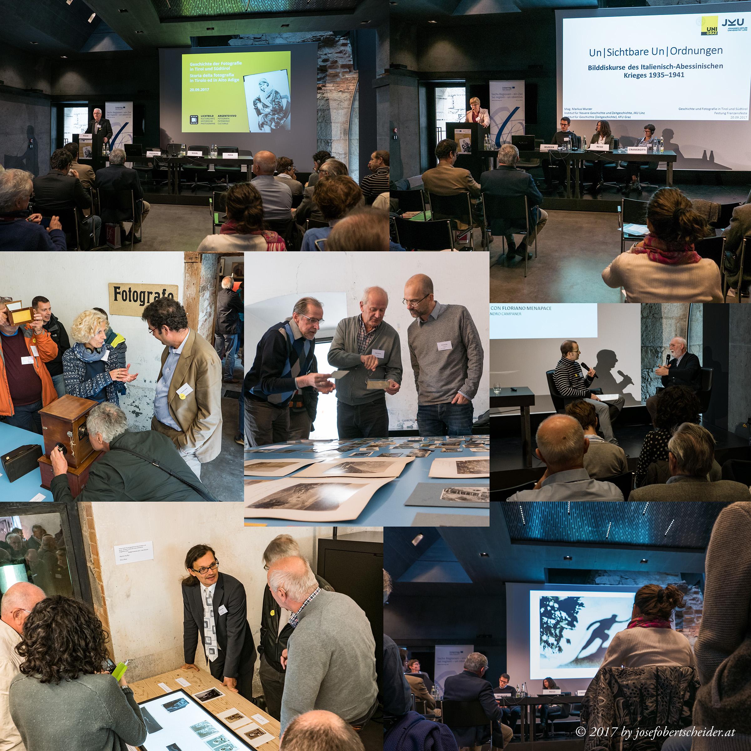 TAP Workshop im Rahmen des Interreg Projektes Lichtbild-Argento vivo in der Festung Franzensfeste