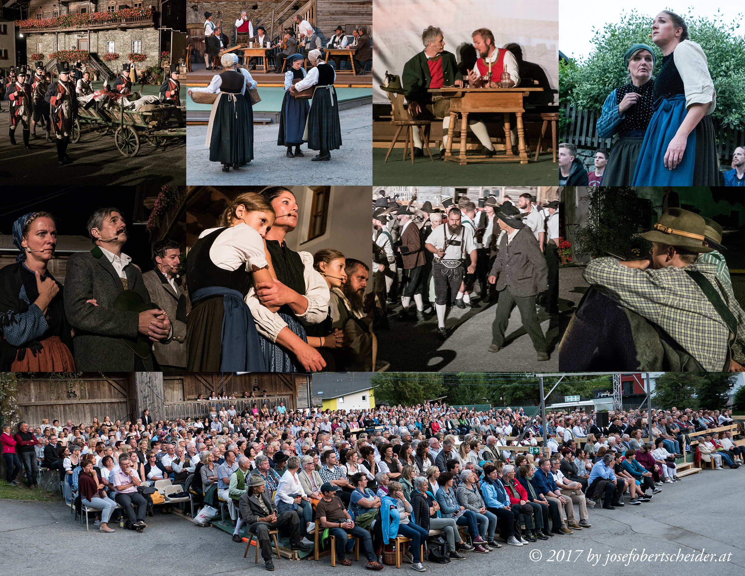 Premiere der Oper Mut zur Freiheit in Matrei in Osttirol