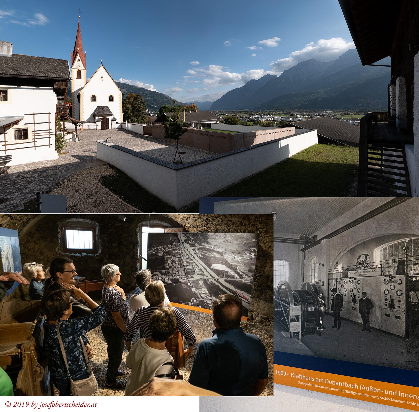 Ausstellung Nußdorf-Debant im Lichtbild, Kurator Dr. Martin
