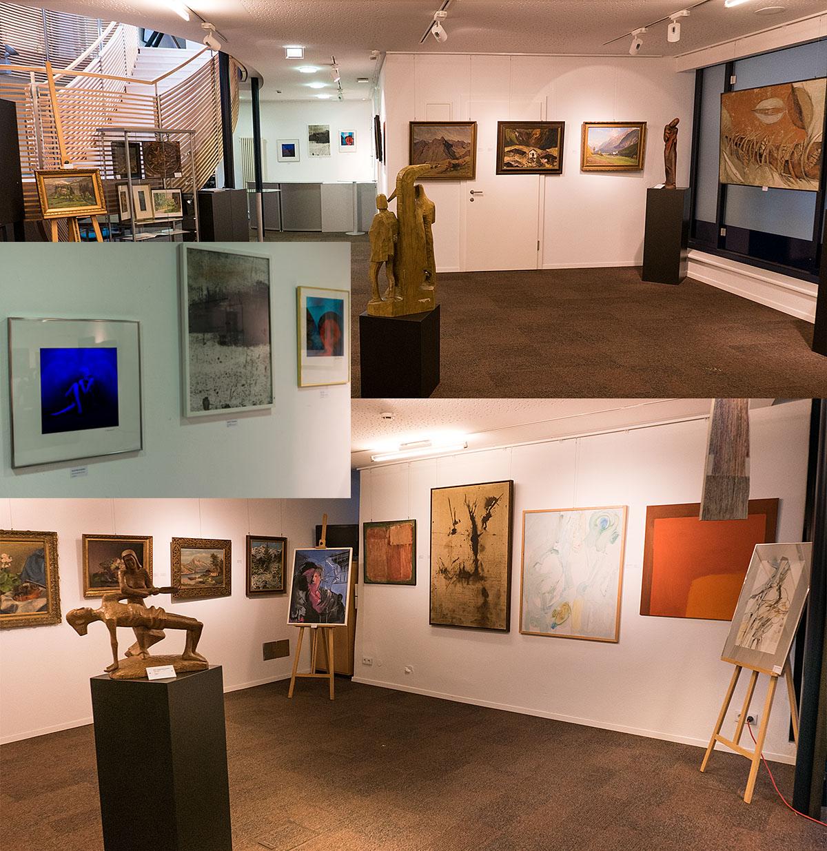 Ausstellung in der DolomitenBank Lienz