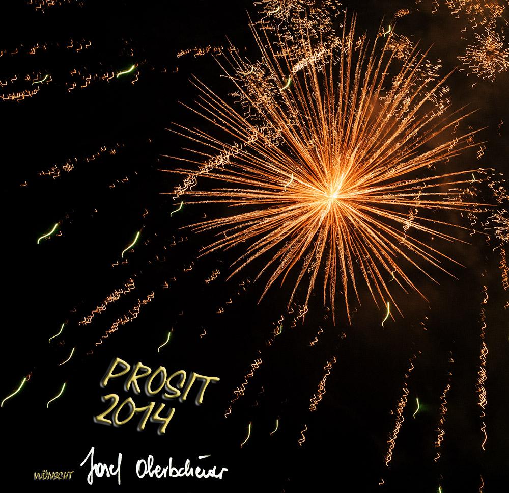 Neujahrswünsche von Josef Obertscheidre