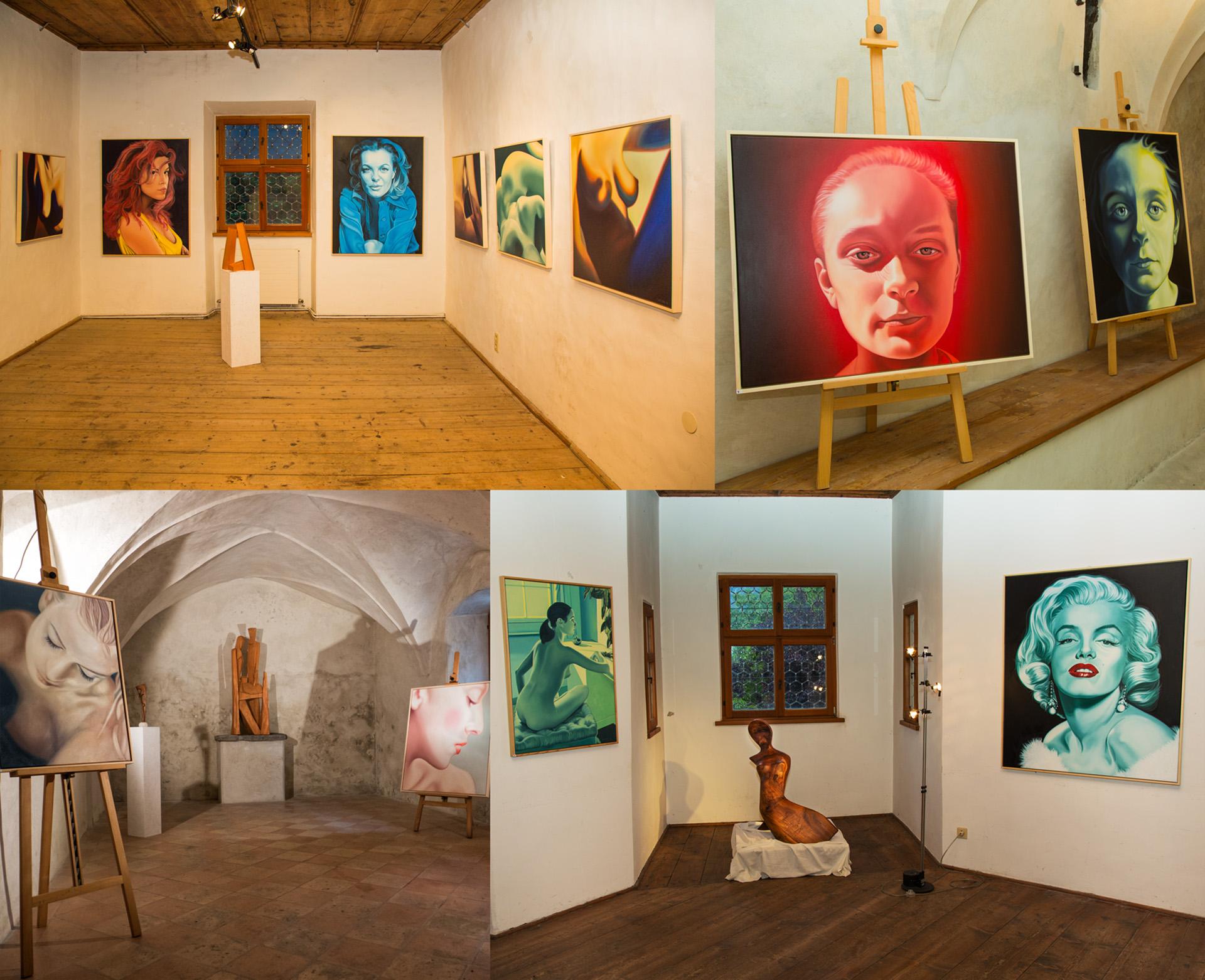 Ausstellung Theurl und Pirker in der Tammerburg