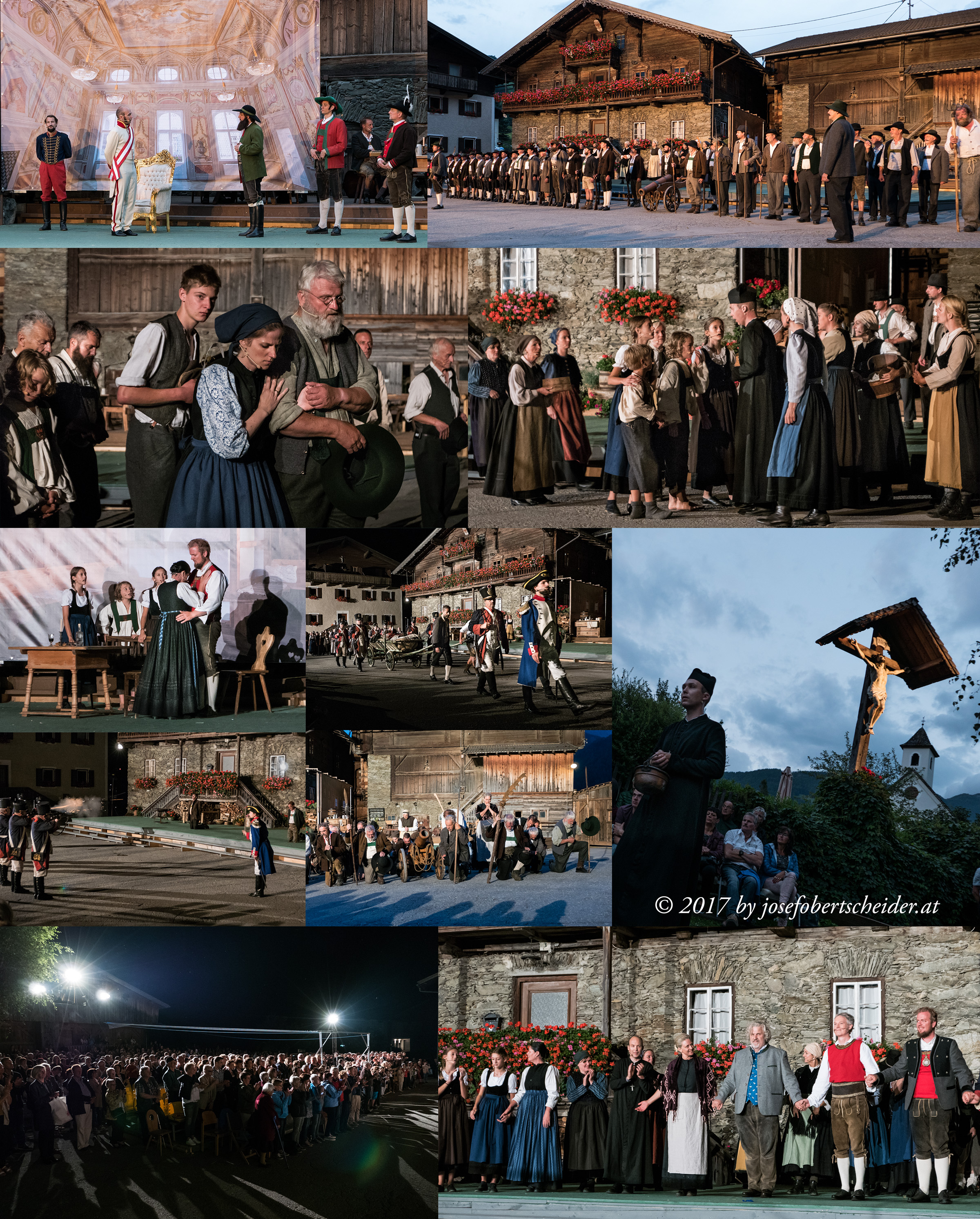 Opernpremiere Mut zur Freiheit von Hansl Klaunzer in Matrei in Osttirol